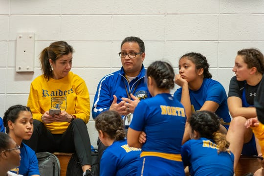 The GMC Girls Wrestling Tournament took place Sunday at St. Thomas Aquinas High School in Edison