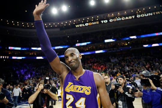 Kobe Bryant is debuting posthumously at the top of the New York Times best-sellers list this month.