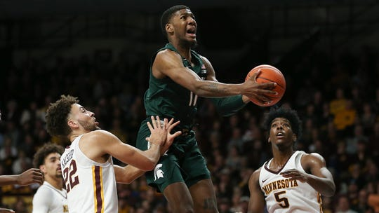 """If Aaron Henry can play well consistently, Michigan State is going to go """"from good to great,"""" coach Tom Izzo says."""