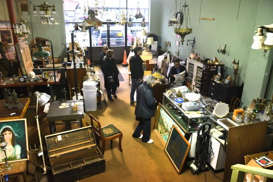Vendors at Eastern Market Antiques said goodbye to their longtime space in January.