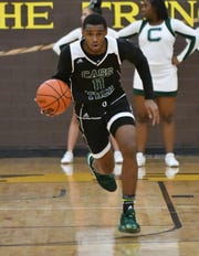 In Friday's 72-47 victory over a Detroit CMA, Cass Tech's Tyson Acuff scored 27, making five 3-pointers..