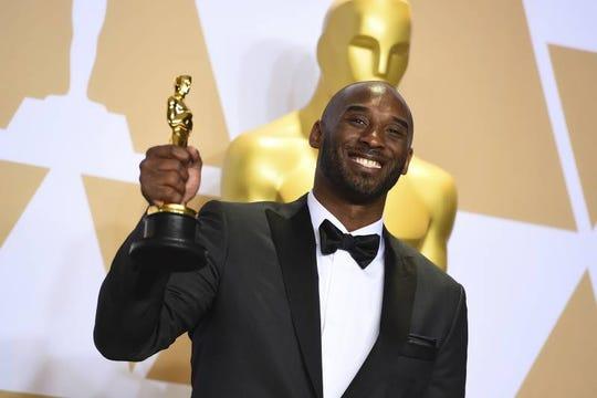 "Kobe Bryant won an Oscar in 2018 for an animated short film, ""Dear Basketball."""