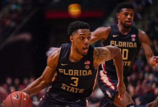 Trent Forrest totaled 13 points, seven assists and five rebounds in Saturday night's win against Notre Dame.