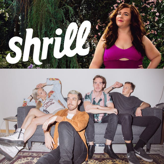 "Aidy Bryant stars in Hulu show ""Shrill"" which just came out with its second season on Jan. 24. Wild Rivers is a folk-pop band from Toronto, Canada that consists of Khalid Yassein (vocals, guitar), Devan Glover (vocals), Andrew Oliver (guitar, bass) and Julien Laferriere (drums)."