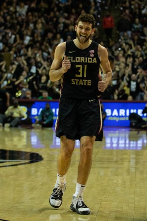 Although Wyatt Wilkes has only one career start, the Orlando native has come big in certain moments like Saturday night's win.