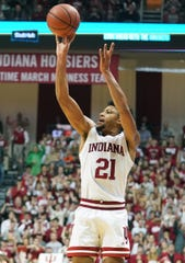 Jerome Hunter is is 6-of-18 from behind the arc against Big Ten teams.