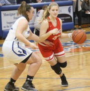 Mansfield Christian's Alexis Rippel is an up-and-coming player for the Lady Flames.