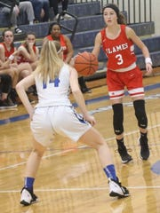 Mansfield Christian's Aubrynn Maiyer has the Lady Flames at No. 7 in the Richland County Girls Basketball Power Poll.