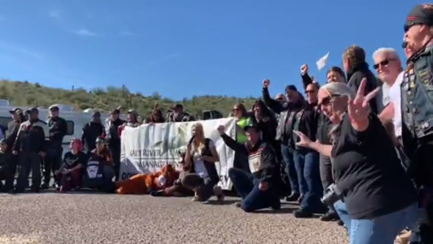 Salt River wild horses group hosts rally during annual event