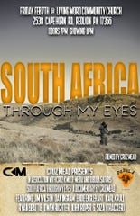 """Cruz Mead, 18 of Dallastown, will be showing his documentary """"South Africa Through My Eyes"""" Friday, Feb. 7 at Living Word Community Church.Submitted photo"""