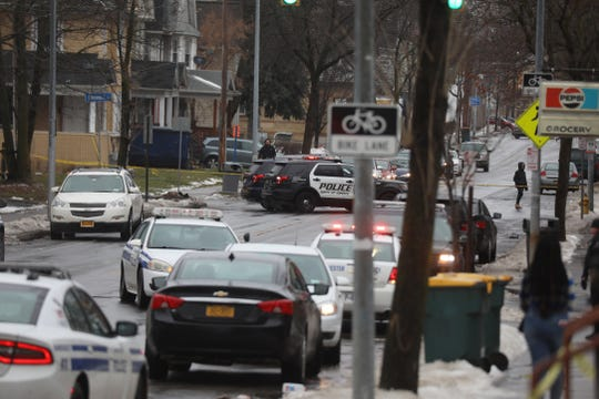 Irondequoit, Greece and NY State Police vehicles responded to the area.