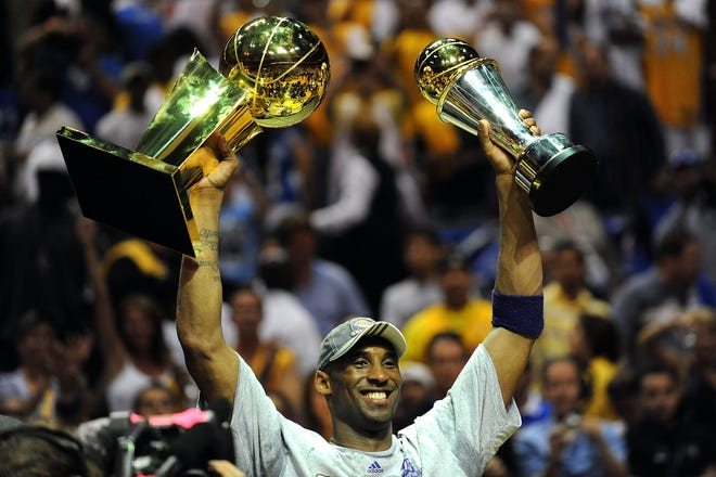 Kobe Bryant, who won five NBA titles, predicted greatness for himself and his teams while at NBA rookie orientation in 1996, said Syracuse great John Wallace of Rochester. After everyone told the 18-year-old Bryant to shut up, 'I had to apologize (years later) because everything he said came to fruition,' Wallace said.