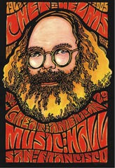 Poster artwork by Wes Wilson