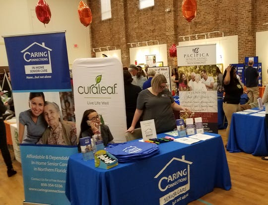 This two-day exhibition at the Tallahassee Senior Center featured 100 agencies, businesses and other local resources to help adults age 50+ stay well, independent and active.