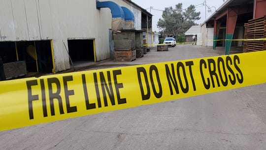 A woman is dead after her clothes got caught in equipment at a Sanger raisin processing plant.