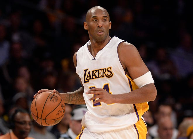 Kobe Bryant jugó en la NBA de 1996 a 2016 con Los Angeles Lakers.