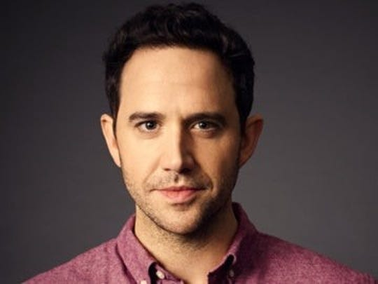 "Santino Fontana stars in ""The Big Time"" at McCarter Theatre in Princeton."