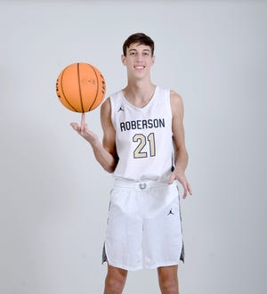 Cameron Phillips is a senior on the Roberson basketball team.
