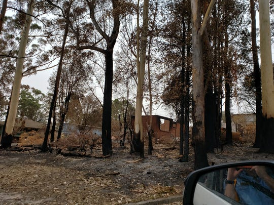 More than 3,000 homes have been destroyed, like the ones in this photo, and 32 people have died in the historic bushfires in Australia.