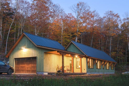 The Zdon Road Net Zero Home in MIddlesex, built by Shelterwood Construction.