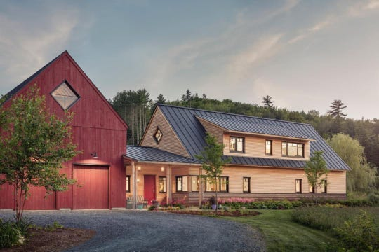 """Hyper-efficient """"passive houses"""" like this one often make use of conventional ground heat exchangers to cut home energy use."""