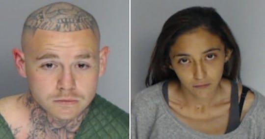 Jonathan Martinez And Alexandria Salazar.