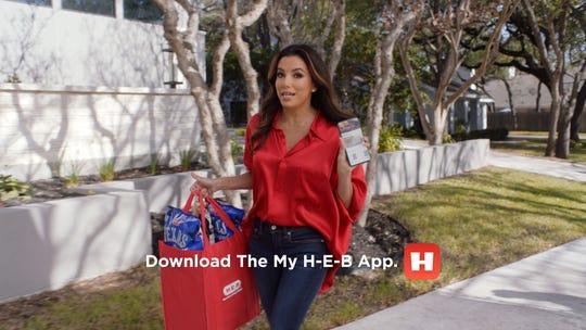 Corpus Christi native Eva Longoria Baston made a teaser commercial for H-E-B's sweepstakes. H-E-B announced they are giving away a lifetime of groceries.