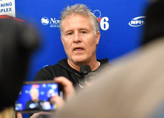 Philadelphia 76ers head coach Brett Brown will be back in action next month when the NBA returns.