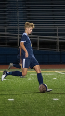 Monroe junior Ben Griffis was a first-team All-Ohio selection in 2019. Griffis led the SWBL with 24 goals, helping lead the Hornets to a district championship.