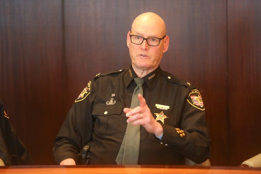 Sheriff Jim Neil speaks with The Enquirer's Editorial Board about his campaign on Monday January 27, 2020.