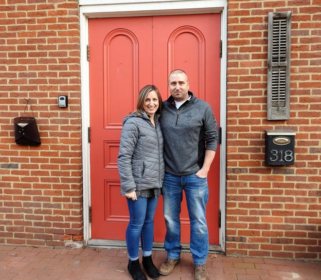 Janell and Brad Richard recently took over the lease of the former Jackson Township Hall in Roscoe Village and opened the Township Room, a meeting room and event space for a variety of functions.