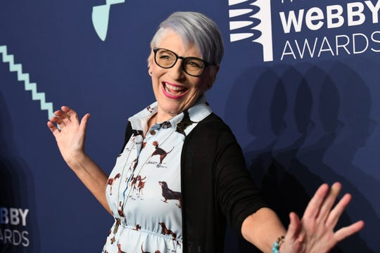 Lisa Lampanelli attends the Webby Awards on May 13, 2019, in New York City.