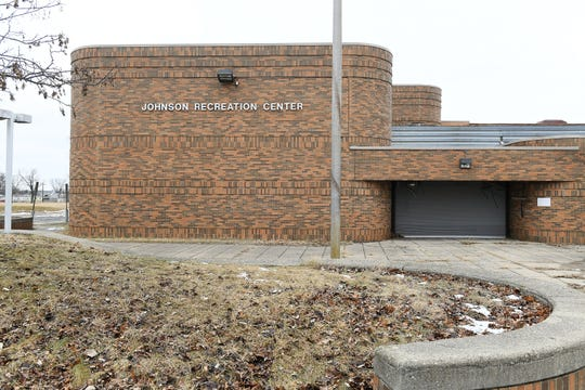 The Johnson Recreation Center has been vacant since 2006, closed due to budget cuts.