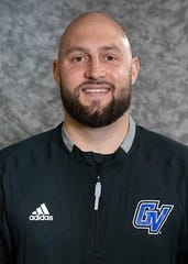 Morris Berger was hired in January as Grand Valley State's new offensive coordinator.