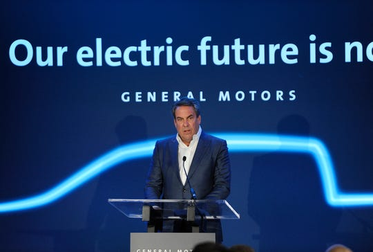 Mark Reuss, GM President, talks about GM's vision of an all-electric vehicles future and the $2.2 billion investment at its Detroit-Hamtramck assembly plant.
