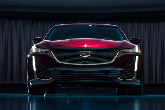 The Cadillac CT5 will make its public debut in April at the New York International Auto Show. The new CT5 comes with an enhanced version of Super Cruise, General Motors Co.'s driver assistance feature.