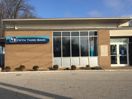 Fifth Third Bank's location at Washington Avenue and Boeke Road is closing effective Tuesday, Jan. 28.