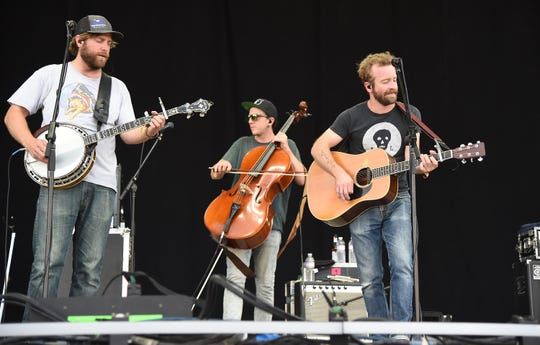 Trampled By Turtles performs at the Bonnaroo Music & Arts Festival in Manchester, Tennessee.