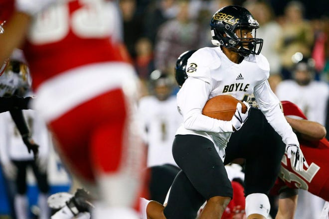 Danville (Ky.) Boyle County's Landen Bartleson, who signed with Notre Dame in December, will no longer be part of the Irish football program.