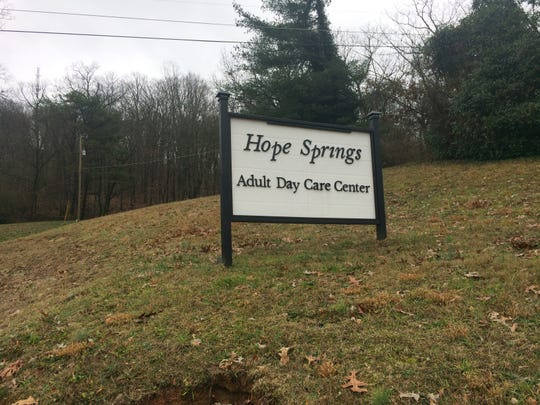 Hope Springs Adult Day Care is at 4036 Gap Pike. January, 2020.