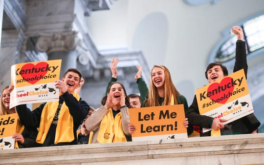 Monday's School Choice Week rally focuses on a private school scholarship tax credit bill introduced by Sen. Ralph Alvarado on Friday.