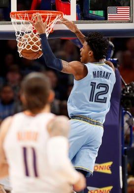 Grizzlies' Ja Morant delivers again in fourth quarter in 114-109 win over Phoenix Suns