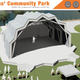 The Veterans' Community Park in Marco Island will include a star-shaped bandshell, according to Mark McLean from MHK Architecture and Planning.