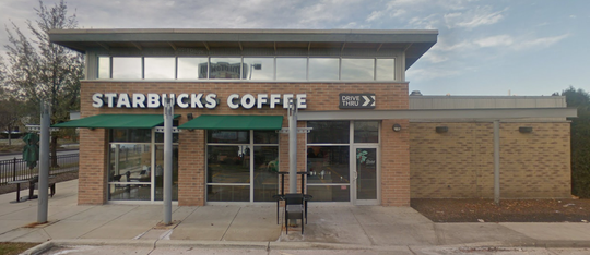 The former Starbucks Coffee at Midtown Center could be replaced by a Biggby Coffee.