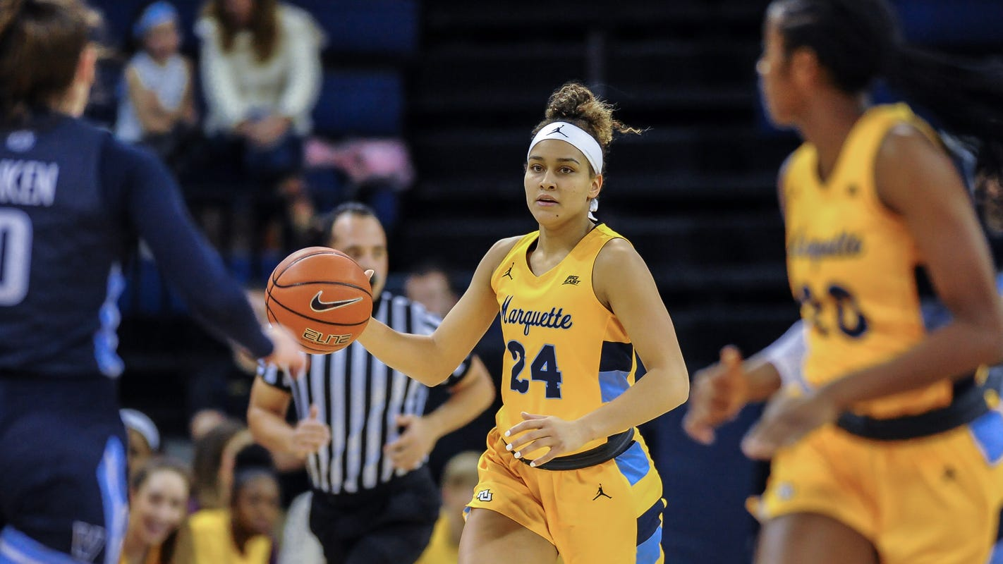 Marquette's Selena Lott didn't get drafted, but she'll still get a chance in the WNBA