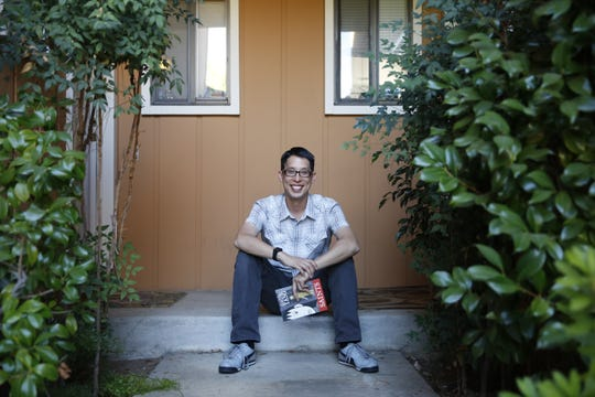 "MacArthur Foundation ""genius"" fellowship winner Gene Luen Yang will speak March 21 at Milwaukee Boswell Books about his new book, ""Dragon Hoops."""