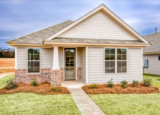 One home on Grand Park Drive is for sale for $197,500 and includes three bedrooms and two bathrooms within 1,468 square feet of living space.