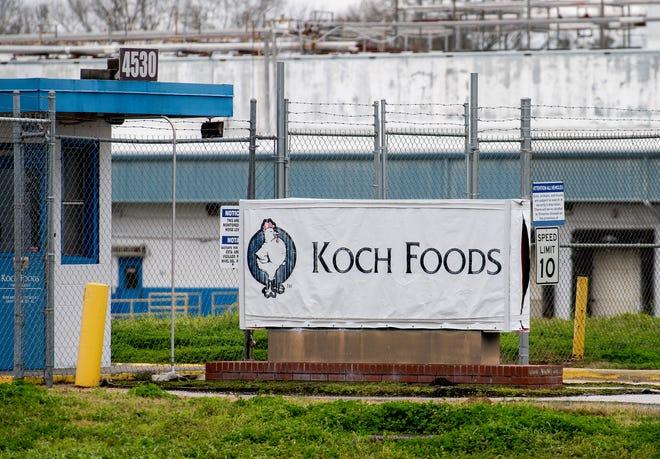 Koch Foods debone plant on Mobile Highway in Montgomery, Ala., on Monday January 27, 2020.