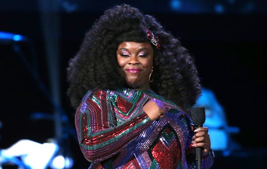 Yola performs at the 62nd annual Grammy Awards on Sunday, Jan. 26, 2020, in Los Angeles.