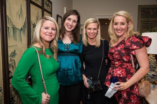 Melissa Lee, Jennifer Lankford, Lisa Jagar and  Caroline Sirko attend the Ballet Ball Ladies' and Gentlemen's Committee Party.